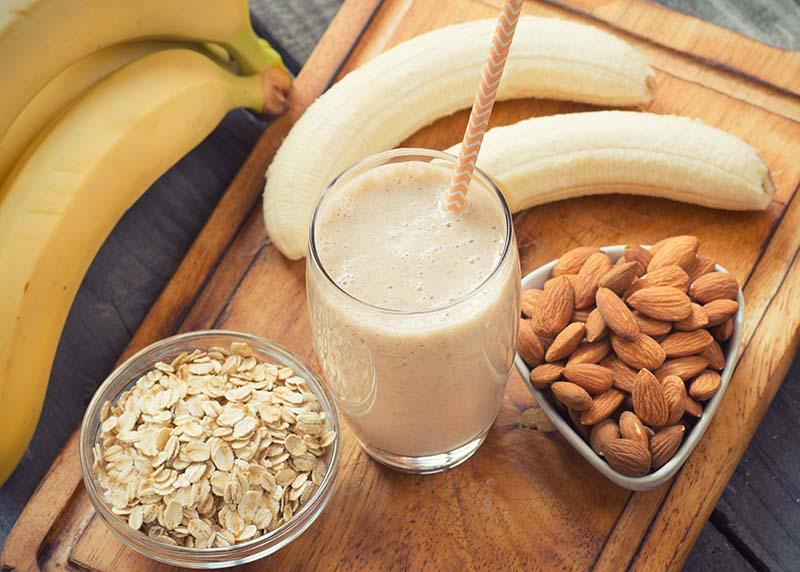 banános rizstej mandulával és zabpehellyel (1)